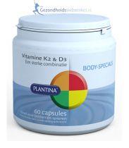 Plantina Vitamine K en D3 gezondheidswebwinkel