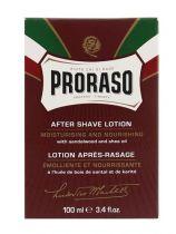 Proraso Aftershave lotion sandelwood Gezondheidswebwinkel