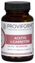Proviform Acetyl L Carnitine 60 capsules gezondheidswebwinkel