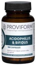 Proviform Acidophilus en Bifidus 100 capsules gezondheidswebwinkel
