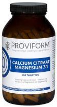Proviform Calcium magnesium citraat 2:1 250 tabletten gezondheidswebwinkel