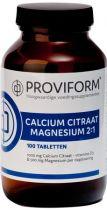 Proviform Calcium Magnesium Citraat 2:1 gezondheidswebwinkel