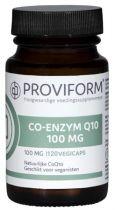 Proviform Co enzym Q10 100 mg 120 caps gezondheidswebwinkel