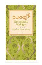 Pukka Lemon en ginger (Clarity) thee gezondheidswebwinkel