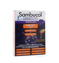 Sambucol Pastilles 20 stuks gezondheidswebwinkel.nl