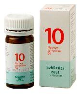 Schussler Celzout Natrium Sulfuricum Nr 10 100 tabletten