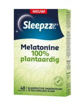 Sleepzz Melatonine 100% Plantaardig 40 tabletten gezondheidswebwinkel