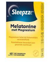 Sleepzz Melatonine met Magnesium 40 tabletten