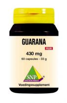 SNP Guarana puur gezondheidswebwinkel