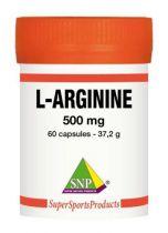 SNP L-arginine 500 mg puur gezondheidswebwinkel