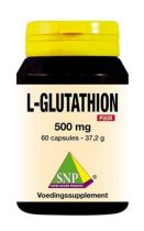 SNP L-Glutathion 500 mg puur 60 gezondheidswebwinkel