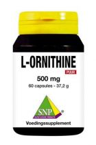 SNP L-Ornithine puur gezondheidswebwinkel