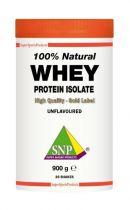 SNP Whey proteine isolate 100% natural 900 gezondheidswebwinkel