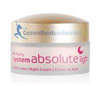 System Absolute nachtcreme  Light Annemarie Borlind gezondheidswebwinkel