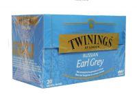 Twinings Earl grey Russian 20 theezakjes gezondheidswebwinkel