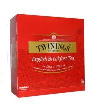 Twinings English breakfast 100 theezakjes gezondheidswebwinkel