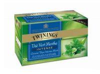 Twinings Green intense mint 20 theezakjes gezondheidswebwinkel