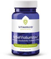 Vitakruid Actief foliumzuur 400 mcg 100 tabletten gezondheidswebwinkel