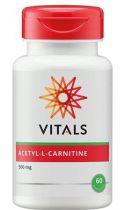 Vitals Acetyl-L-carnitine 500 mg 60 capsules gezondheidswebwinkel