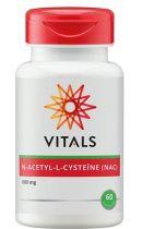 Vitals N-Acetyl-L-cysteine 60 capsules gezondheidswebwinkel