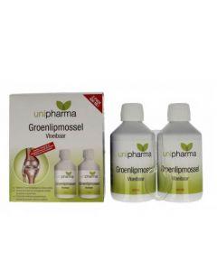 Unipharma Groenlipmossel Vloeibaar 400 ml Gezondheidswebwinkel