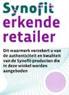 Synofit erkende retailer Gezondheidswebwinkel